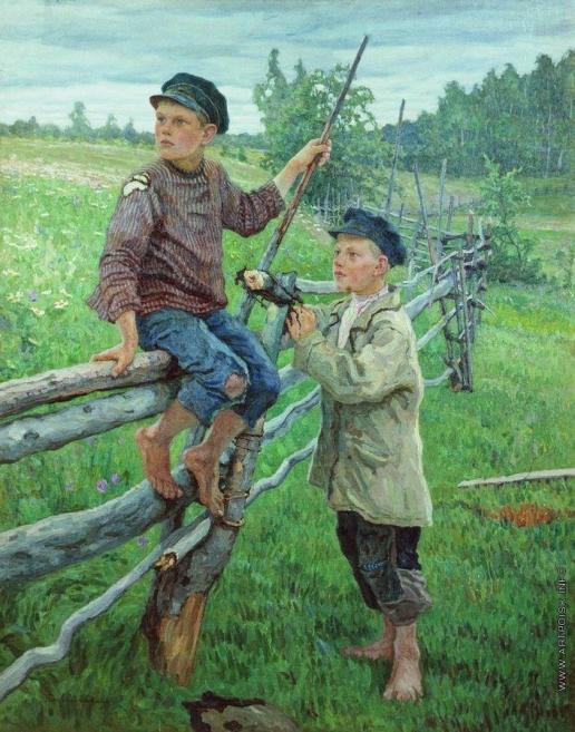 Богданов-Бельский Н. П. Деревенские мальчики.