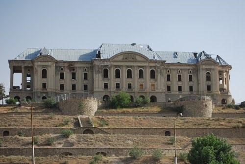 Так теперь выглядит дворец Амина, он же Тадж-Бек палас.