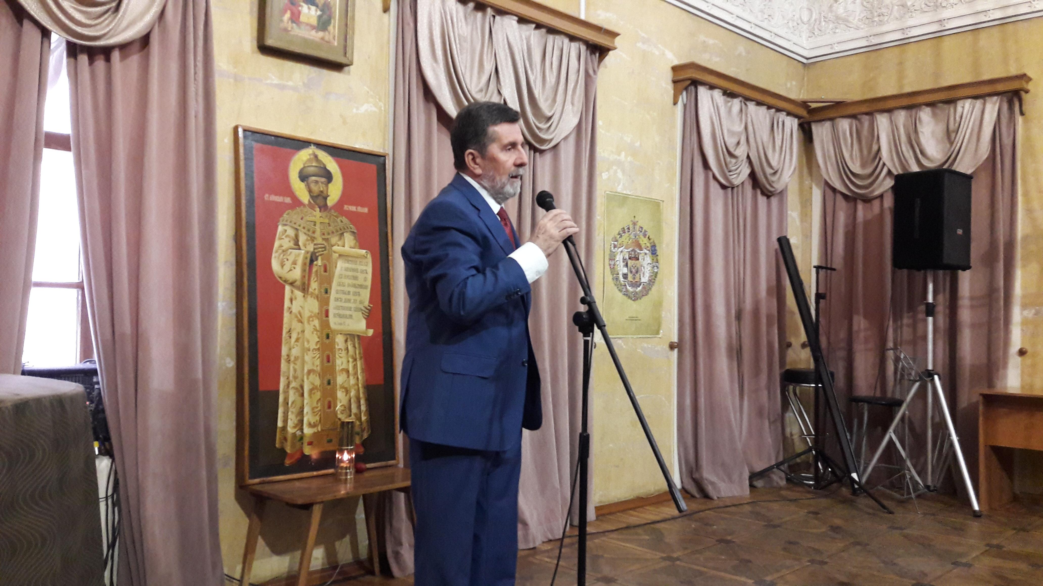 Посол Республики Сербии в России г-н Славенко Терзич в Фонде славянской письменности и культуры