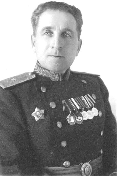 Генерал - майор Сгибнев Степан Михайлович.