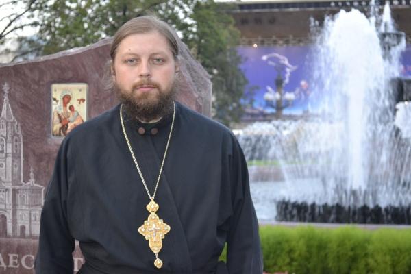 Протоиерей Андрей Семёнов – клирик Свято-Владимирского кафедрального собора города Луганска