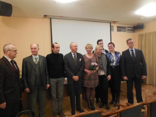Лидия Довыденко: Презентация журнала «Берега», которая состоялась 6 ноября 2014 года в ДРЗ, для меня, как главного редактора, стала в ряд судьбоносных встреч.