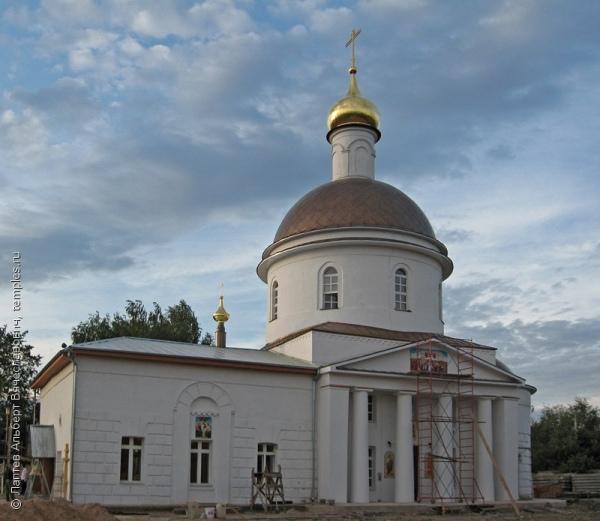 Храм в Глинково