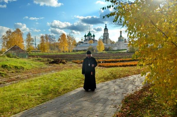 Панорама Толгского монастыря