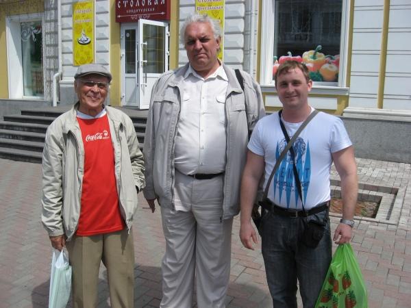 Владимир Стацинский, Андрей Коломиец, Виктор Власов