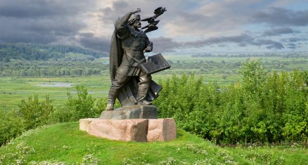Памятник сказителю Бояну