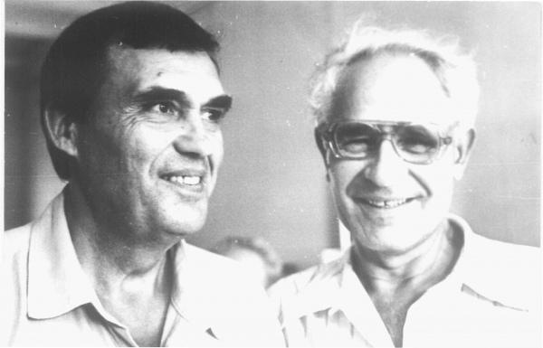 Два Александра – А. А. Дегтярёв (слева) и А. Н. Плетнёв.