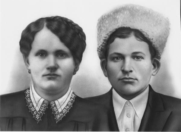Петр и Мария Снежковы