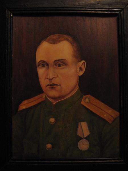 Портрет М.Е. Грибкова работы В.Е. Грибкова