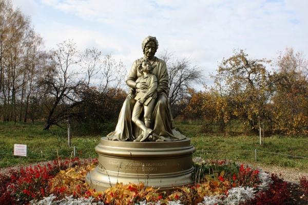 Захарово. Памятник