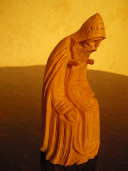 Нил Столобенский, современная деревянная версия