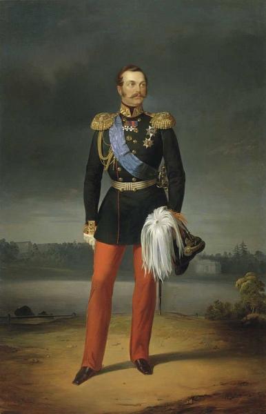 Портрет Великого князя Александра Николаевича.