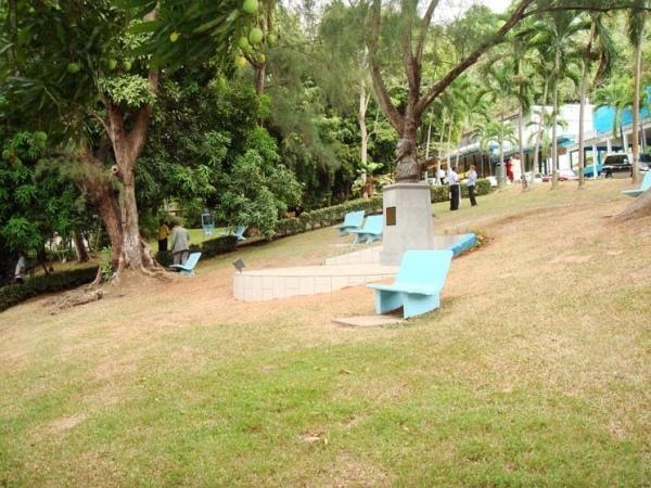 Памятник Пушкину в Панаме