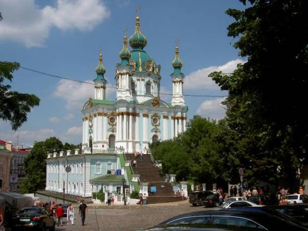 Андреевская церковь, Киев