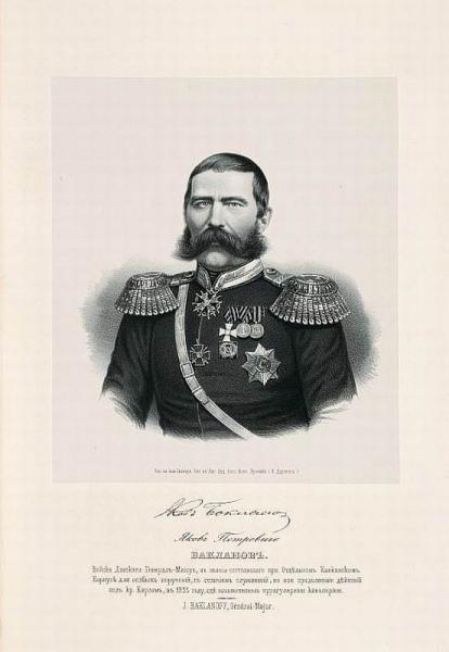 Я.П. Бакланов