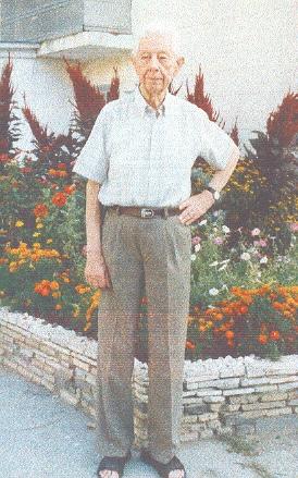 Л.Н. Савинский на склоне лет