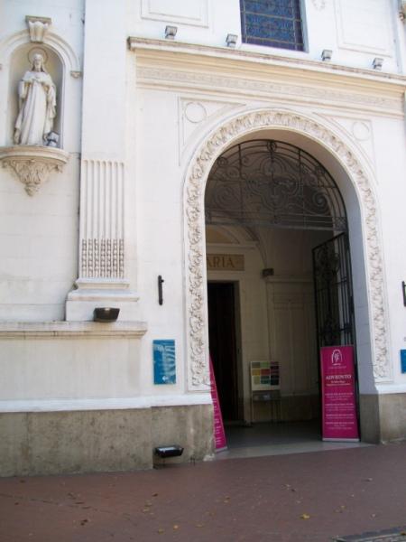 Вход в церковь Санта Каталина де Сиена
