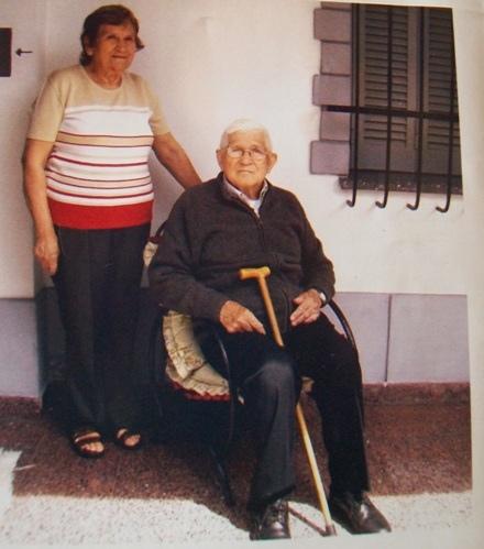 Еваристо Барейро Ривас с дочерью