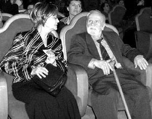 Василий Иванович Белов с супругой Ольгой Сергеевной