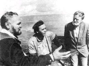 В. Крупин, В. Распутин и В. Белов.