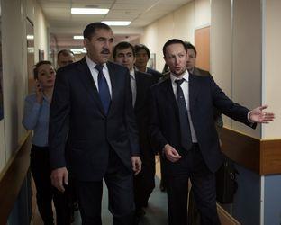 26 декабря Университет «Синергия» посетил Герой России, Глава Республики Ингушетия – Юнус-бек Евкуров