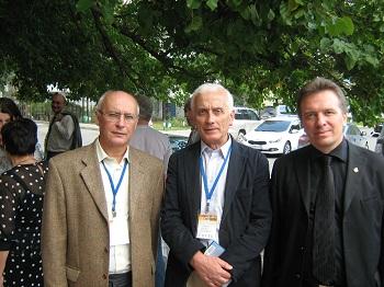 В. Кирюшин (Москва), П. Анчев (Варна, Болгария), И. Голубничий (Москва)
