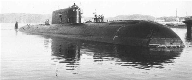 Атомная подводная лодка К-278 «Комсомолец»