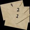 Три смятых конверта