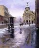 Худ. Rikardo Sanz «Городской пейзаж»